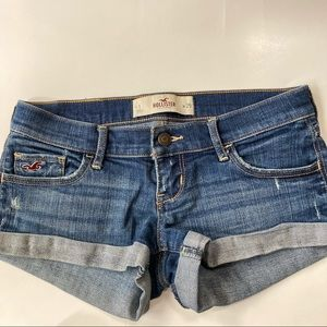 Hollister | Distressed Jean Shorts